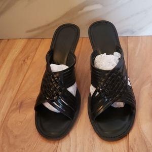 Wooden wedge sandal by MICHAEL Michael Kors